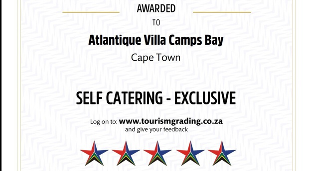 Atlantique Villa Camps Bay Five Star Graded Self Catering Exclusive Villa